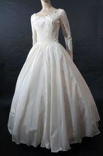 Romantic & Elegant 1950's Wedding Dress