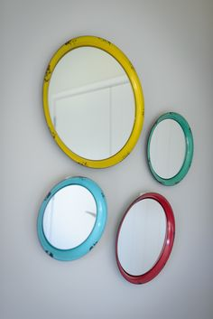 Mirrors are great decor to add that little bit of abstract