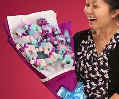 Bouquet Of Unicorns  Brighten up that special someones day instantly when you surprise them with a bouquet of unicorns. Unlike flowers that wither away these cute and cuddly plush unicorns were crafted from bits of real magic so theyll always being there to make you smile.  $49.99  Check It Out  Awesome Sht You Can Buy