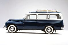 Vintage Volvo Wagon @Dawn Cameron-Hollyer Norris - This might do until the truck fits the family!