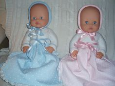 Faldoncitos para los nenucos Baby Born, Pretty Dolls, Vintage Toys, Baby Dolls, Doll Clothes, Glamour, Kids Fashion, Rag Doll Patterns, Dress Patterns