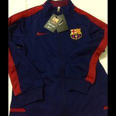 216401a2a0 Nike Jackets   Coats - Nike FC Barcelona authentic n98 blue red KIDS Nike  Jacket