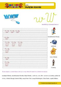 W Archives - Manute Pricepute Cursive Letters, Worksheets For Kids, Stories For Kids, Alphabet, Kindergarten, Archive, Bullet Journal, Teaching, Activities
