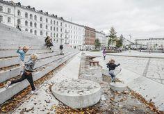 Israel's Square, Copenhagen redesigned by COBE. Click image for full profile via ASLA and visit the slowottawa.ca boards >> https://www.pinterest.com/slowottawa/boards