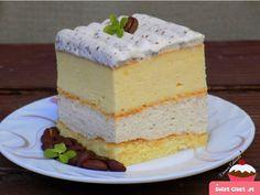 sernik z kawa i kardamonem Polish Desserts, Polish Recipes, Vanilla Cake, Cheesecake, Baking, Blog, Cakes, Collections, Drinks