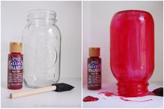 Craftaholics Anonymous® | How to Paint Mason Jars Tips and Tricks