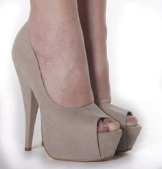 Damen Plateau High Heels Pumps Peeptoes Sandalen Beige Schuhe Größe 36 37 38 39 40 41: Amazon.de: Schuhe & Handtaschen - StyleSays