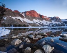 Lake Marie   Wyoming Landscape Photography by Rick Louie Photography