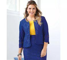 Vypasované sako s dlhými rukávmi Blazers, Outfit, Jackets, Women, Products, Fashion, Plus Size, Plunging Neckline, Elegant