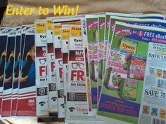{Weekly Giveaway} 15 Coupon Inserts from 08/05/12!