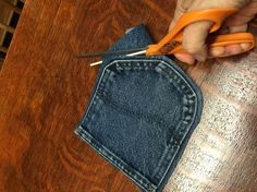 casual and cute blue jean coasters