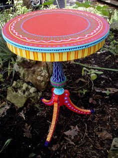 Hand Painted Furniture Wild and Crazy Custom Made to por LisaFrick