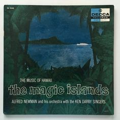 The Magic Islands: The Music Of Hawaii LP Vinyl Record Album, Decca - DL 9048 1957, Original Pressing