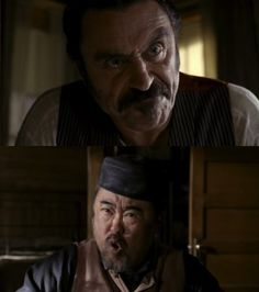 Swearengen and Wu! (Deadwood)