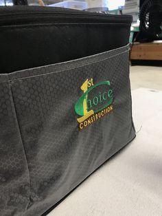 We hope we are YOUR 1st choice for you next embroidery order! These lunch boxes were a hit! #brandspeed #April #2019 #embroidery