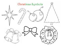 A FHE idea using the symbols of Christmas to represent the true meaning of Christmas.