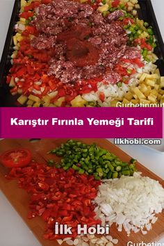 Bakery Recipes, Oven Recipes, Turkish Recipes, Ethnic Recipes, Pasta, Cobb Salad, Risotto, Yummy Food, Meals