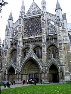 Westminster Abbey, London. King Henry VIII's coronation and burial site.  Jane Seymour, Anne of Cleves, and many others are buried here.