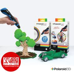 ¡Llega la revolución creativa en 3D! Crea tu diversión con el Lápiz 3D Polaroid Play  #3D #creatividad #manualidades