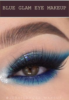 From sultry and smoky to fun and flirty, the attention makeup can greatly change your whole look. However, when you find yourself likely to choose the... Eyeshadow Brushes, Eyeshadow Looks, Makeup Eyeshadow, Blue Eye Makeup, Makeup For Brown Eyes, Green Eyes, Blue Eyes, Loose Powder, Colorful Makeup