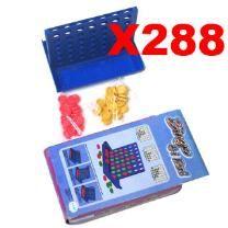 Bulk Lot of 288 X 4 In A Row Bingo Set - Get In a Row - Fun Bingo Game