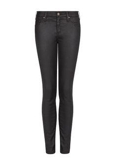 Jeans super slim Belle negros - MNG