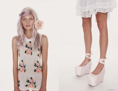 Wildfox.     Note to self: bust out your petticoats more often
