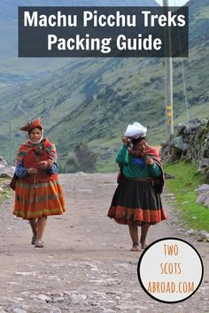 The only packing guide you need for treks to Machu Picchu (Inka, Salkantay, Lares) in Peru.