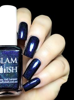 Glam Polish Black Water Mei Mei's Signatures exclusive limited edition Dark Terror Duo