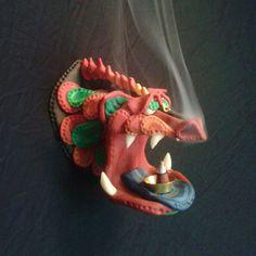 1 Dragon Head Cone Incense Burner