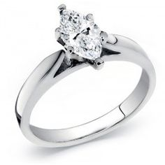 14k Gold Diamond Solitaire Ring 1.00 Carat