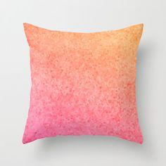Beautiful Throw Pillow Sea Glass mosaic от ArtfullyFeathered