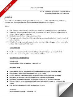 rn resume samplejpg 450600