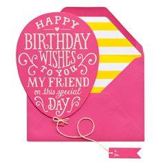 Birthday Balloon | Sugar Paper Los Angeles