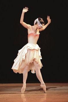 Darcey Bussell in 'The Prince of the Pagodas', the Royal Ballet