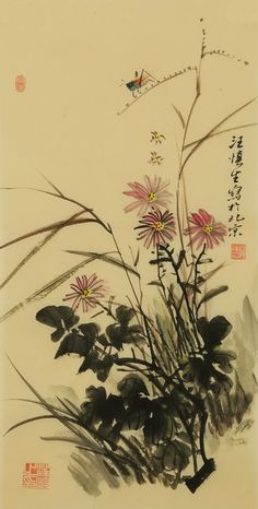 Chinese Narcissus paintings - flowers