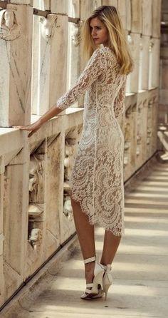 Long lace dress! Love it!!!!