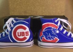 Your place to buy and sell all things handmade Prince Shoes, Acrylic Paint Pens, Run 1, Star Shoes, Chicago White Sox, Los Angeles Lakers, Chicago Cubs, Chuck Taylors, Converse Chuck Taylor