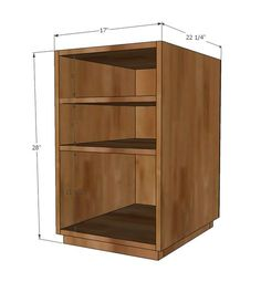 From The Home Depot Ana White Build A Eco Office Open Shelf Base Made With Purebond Formaldehyde Free Plywood