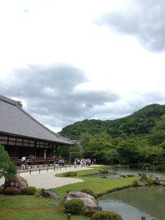 Tenryu-ji temple, Kyoto, Japan