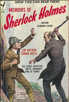 Arthur Conan Doyle - Memoirs Of Sherlock Holmes (Bantam 704) on Flickr.Via Flickr:  Doyle, Arthur Conan  Memoirs Of Sherlock Holmes  1949  Bantam 704