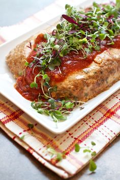 Gluten Free Chicken Meatloaf Recipe for @AttuneFoods photos © MarlaMeridith.com