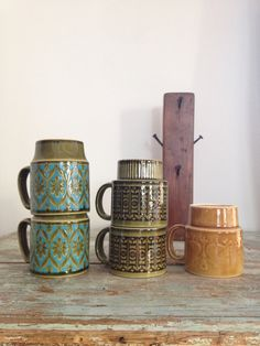 This etsy store seels vintage cups, plates and glass for pretty cheap!