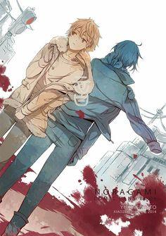 Noragami|-Yato and Yukine