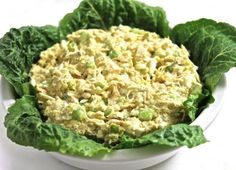 Tuna salad meets egg salad is this delicious, easy recipe! So versatile, eat alone or make a sandwich, lettuce wrap or main course salad. Be sure to check out