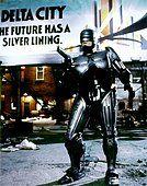 Peter Weller / RoboCop / 1987 directed by Paul Verhoeven [Orion Pictures Corporation] - Stock Photo