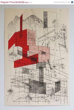 Ben Kafton / Landscape in Lines