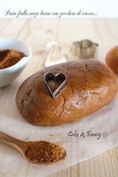 Pasta frolla senza burro con zucchero di cocco