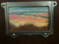 Acrylics on rosin paper for Day 28 of #30DaysofCreativity and Day # 93 of Art on My Door