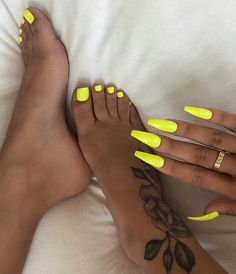 nails - 66 spectacular neon nail designs for spring 2019 24 Acrylic Nails Natural, Best Acrylic Nails, Summer Acrylic Nails, Summer Nails, Acrylic Toes, Acrylics, Aycrlic Nails, Neon Nails, Coffin Nails